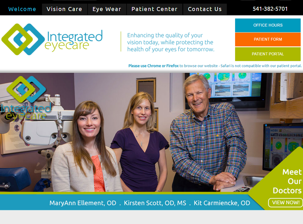 Integrated Eyecare | Optometrist Bend, Oregon
